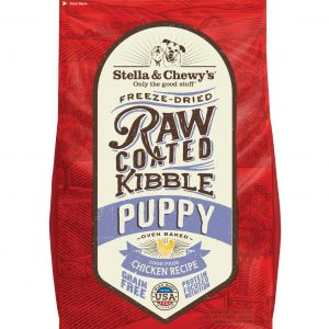 Stella & Chewy's Raw Coated Kibble – 3.5 lbs, PUPPY Cage-Free Chicken