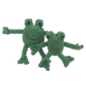 JB Rope Toy Flip the Frog