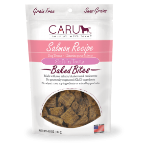 CARU Baked Bites Treats Salmon