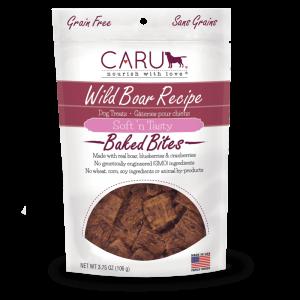 CARU Baked Bites Treats Wild Boar