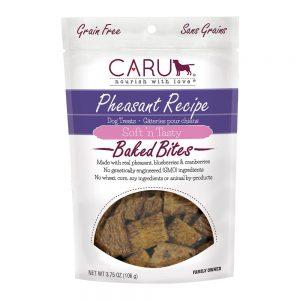 CARU Baked Bites Treats Pheasant