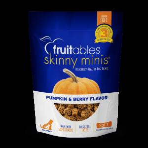 Fruitables Skinny Minis Treats – Pumpkin & Berry