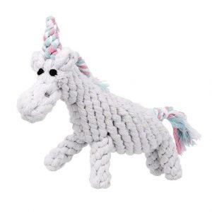 JB Rope Toy Unicorn