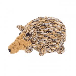 JB Rope Toy Hedgehog
