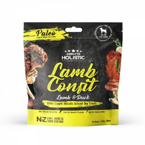 Absolute Holistic Air Dried Treats 100g – Lamb Confit