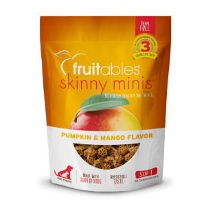 Fruitables Skinny Minis Treats – Pumpkin & Mango