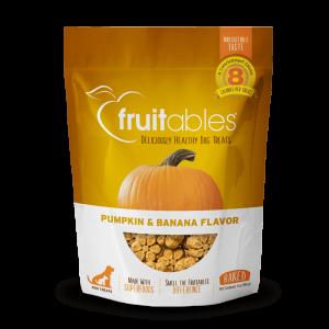 Fruitables Crunchy Treats – Pumpkin & Banana