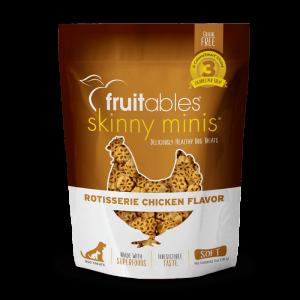Fruitables Skinny Minis Treats – Rotisserie Chicken