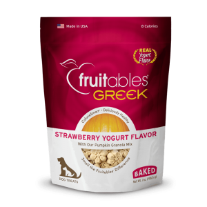 Fruitables Crunchy Treats – Greek Strawberry Yogurt