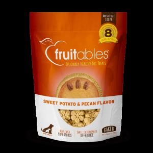 Fruitables Crunchy Treats – Sweet Potato & Pecan