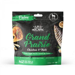 Absolute Holistic Air Dried Treats 100g – Grand Prairie Chicken & Hoki