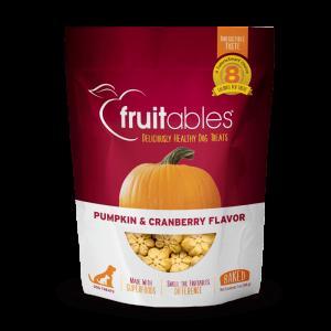 Fruitables Crunchy Treats – Pumpkin & Cranberry