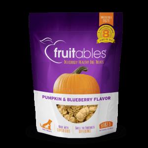 Fruitables Crunchy Treats – Pumpkin & Blueberry
