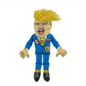 Fuzzu DOG Donald Trump Toy