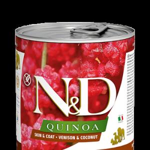 Farmina Rawcan DOG Quinoa Skin & Coat Venison & Coconut