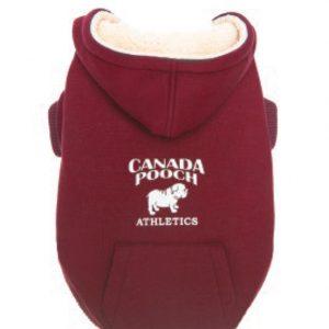 Canada_Pooch_Cozy_Caribou_Hoodie_red