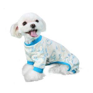 Milo-pajama-blue-dog