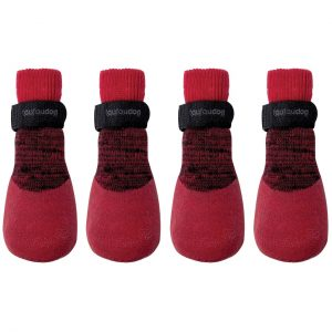 foufou_Rubber_Dipped_Socks_red