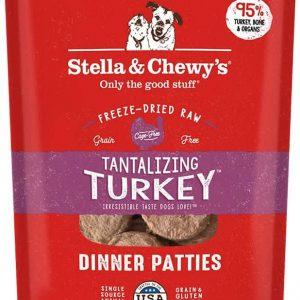 Stella & Chewy's Freeze Dried Dinner Patties Tantilizing Turkey