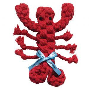 Jax & Bones Louie the Lobster Rope Toy – Large