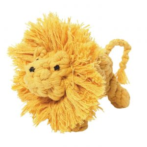 Jax & Bones Larry the Lion Rope Toy – Small