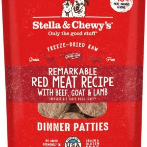 Stella & Chewy's Freeze Dried Dinner Patties Red Meat
