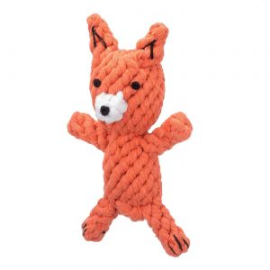 Jax & Bones Frederick the Fox Rope Toy – Small