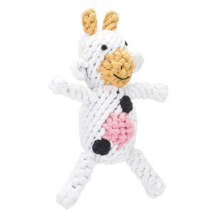 JB Rope Toy Claire the Cow – Small