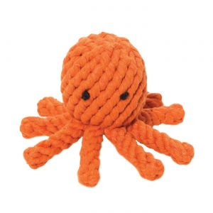 JB Rope Toy Elton the Octopus – Small