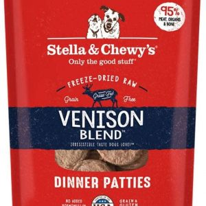 Stella & Chewy's Freeze Dried Dinner Patties Venison Blend