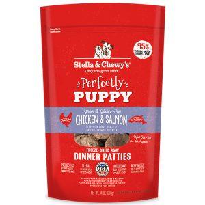 Stella & Chewy's Freeze Dried Dinner Patties Puppy Chicken & Salmon