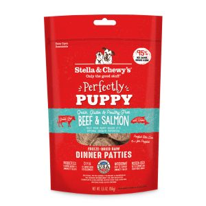 Stella & Chewy's Freeze Dried Dinner Patties Puppy Beef & Salmon