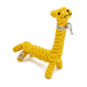 JB Rope Toy Jerry the Giraffe – Small
