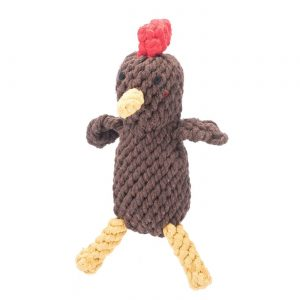 Jax & Bones Randall the Rooster Rope Toy – Small