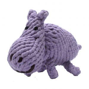 Jax & Bones Hank the Hippo Rope Toy – Large