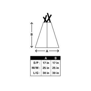 YH-teepee-size-chart